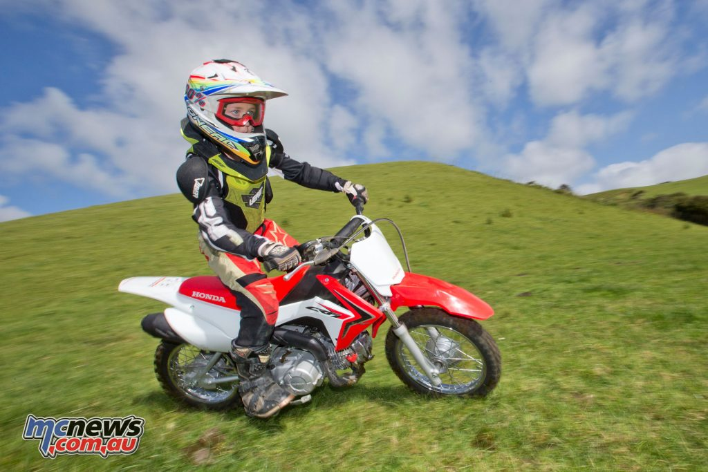 The Honda CRF110F is the perfect stepping stone after the CRF50F