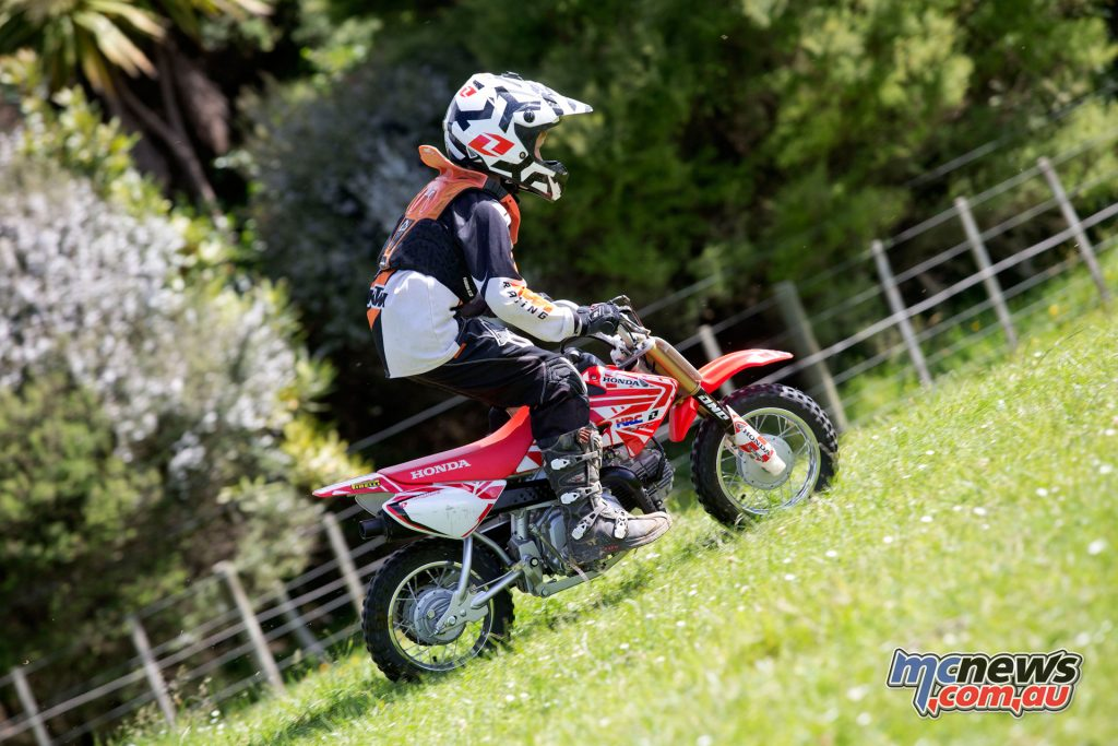 Honda Kids Bikes Review Crf50f Crf110f Crf125f Mcnews