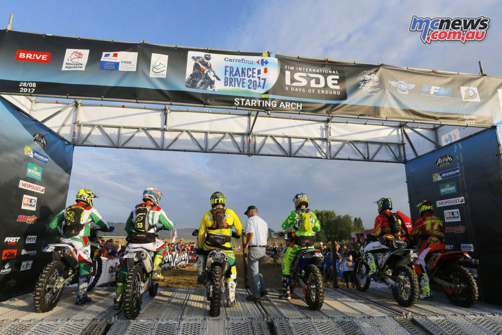 It wasn't all clear sailing on Day of of the 2017 ISDE