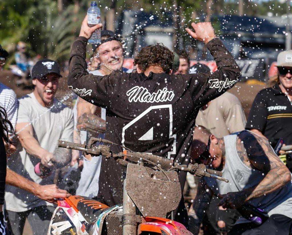 Egan Mastin lifts MX2 Title in nailbiting Coolum finale