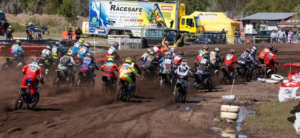 KTM Amateurs start
