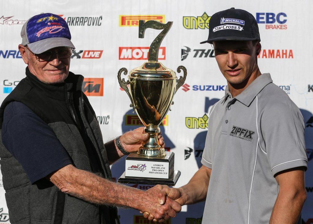 Joel Green -Andrew McFarlane trophy winne