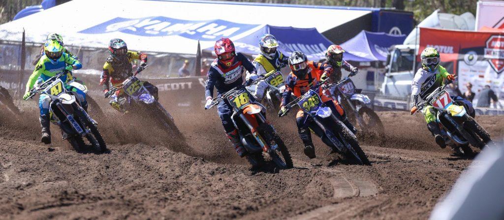 The Yamaha 125 Rookies at Coolum