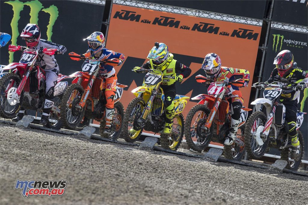 MX2 Start - Jeremy Seewer