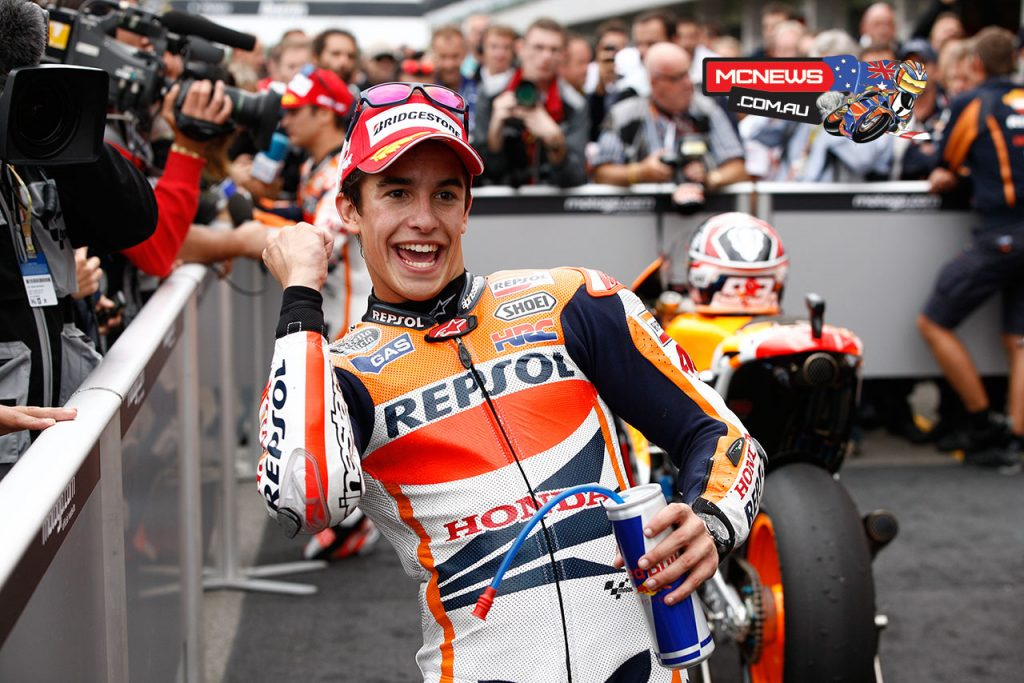 Marquez was victorious at Brno as a MotoGP rookie in 2013 - Image by AJRN