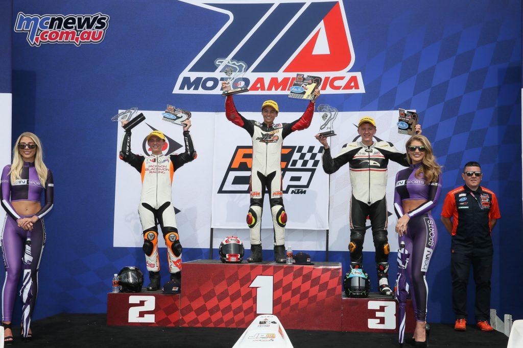 KTM RC Cup Podium