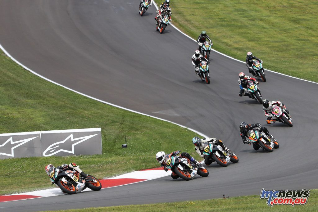 KTM RC Cup field in Race 2