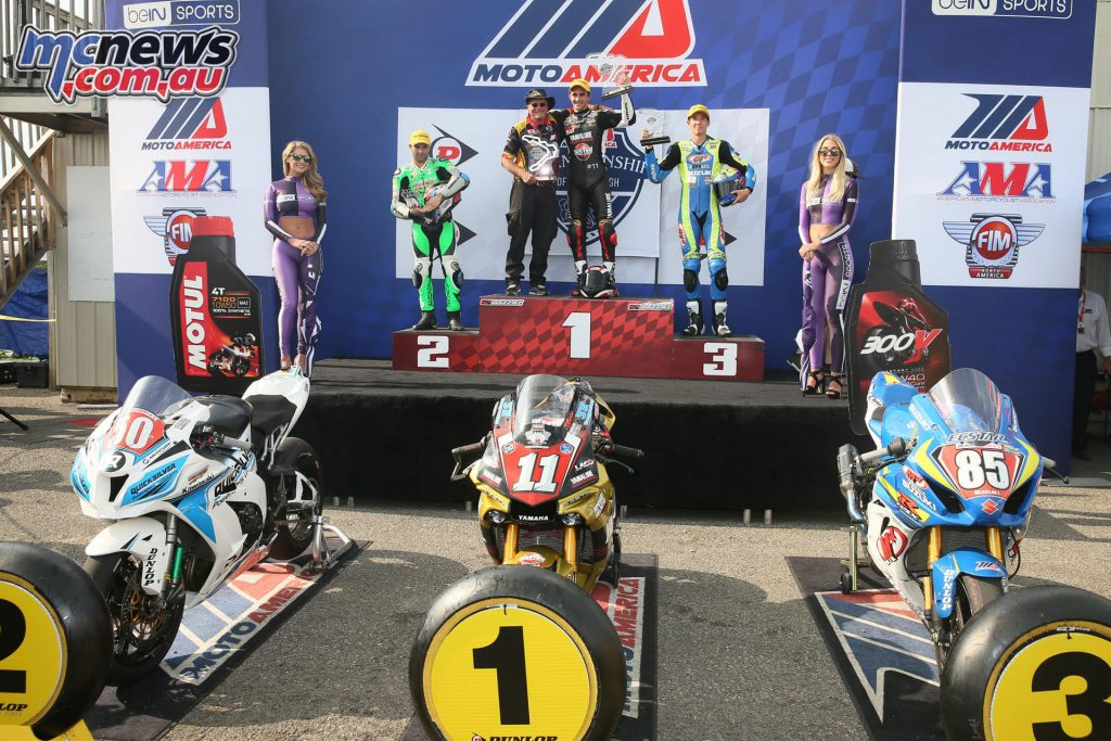Superstock 1000 Podium