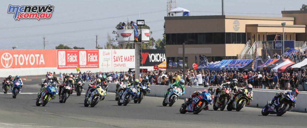 Superbike Start - Sonoma