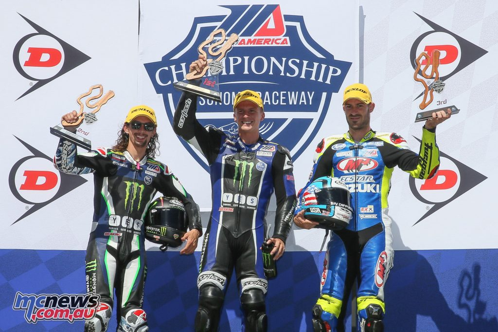 Supersport Race 2 Podium