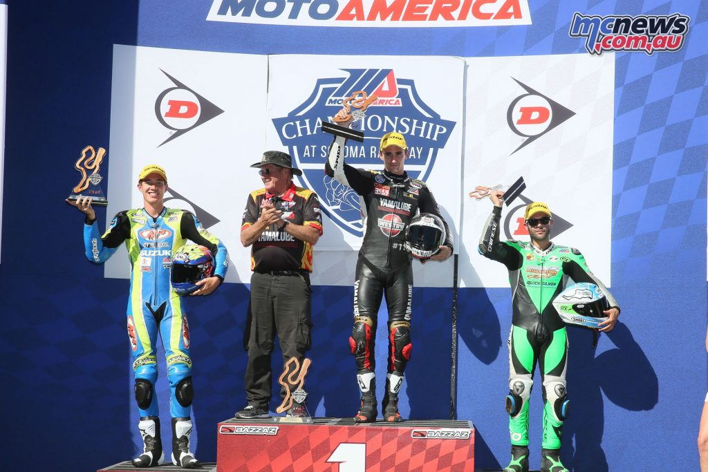 Superstock Race 2 Podium