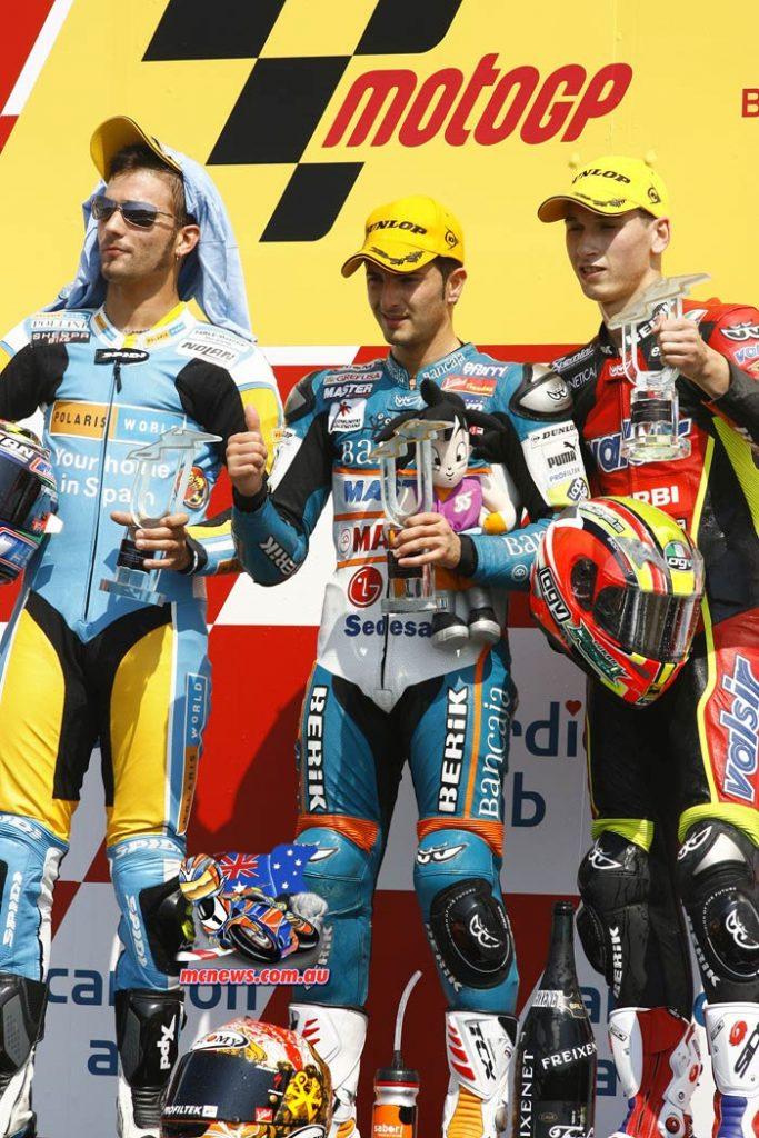 MotoGP Brno 2007 - 125cc Podium