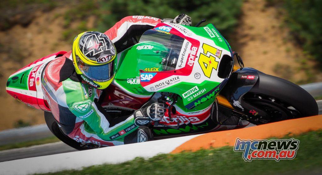 Aleix Espargaro will continue with Aprilia Racing in 2018
