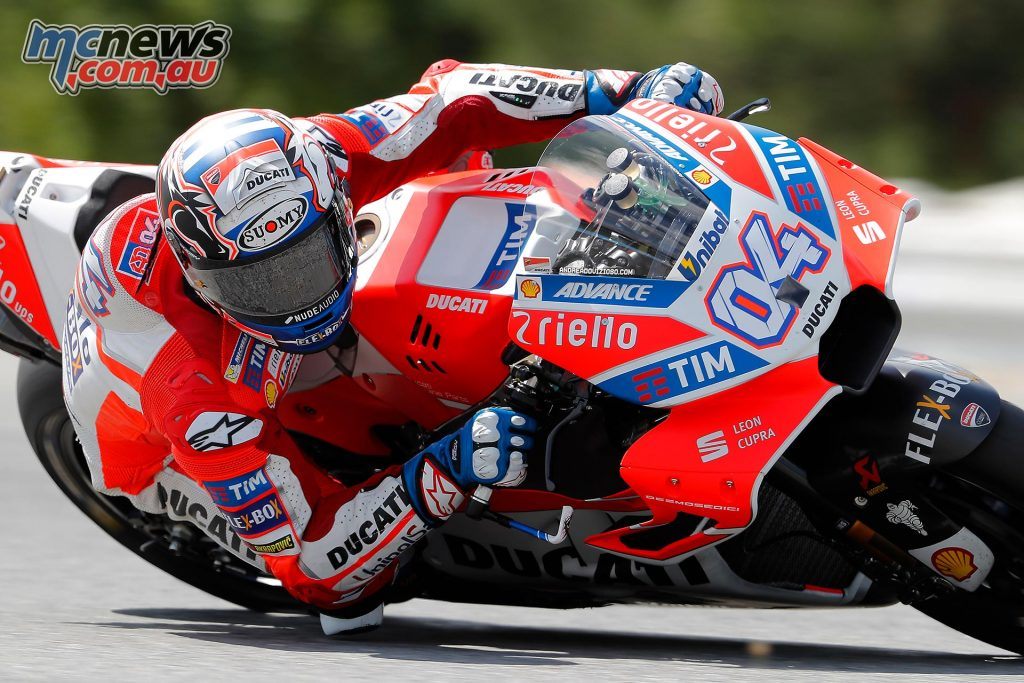 Following a P6 finish for Andrea Dovizioso (Ducati Team) in the Czech GP, the timing couldn't be better.