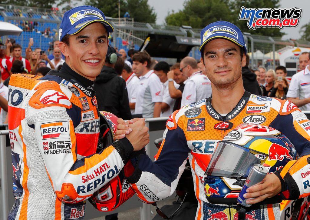 Marc Marquez and Dani Pedrosa