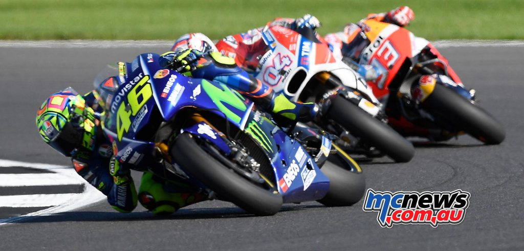 Dovi and Marquez close in on Rossi, before disaster strikes for Marquez