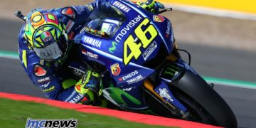 Valentino Rossi - Silverstone 2017 - Image by AJRN