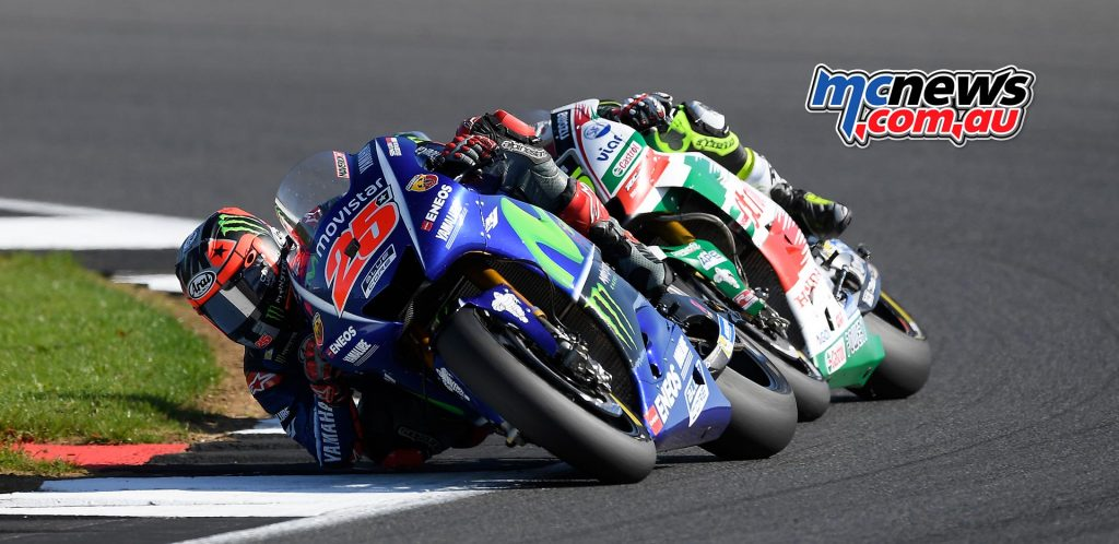 Maverick Vinales and Cal Crutchlow
