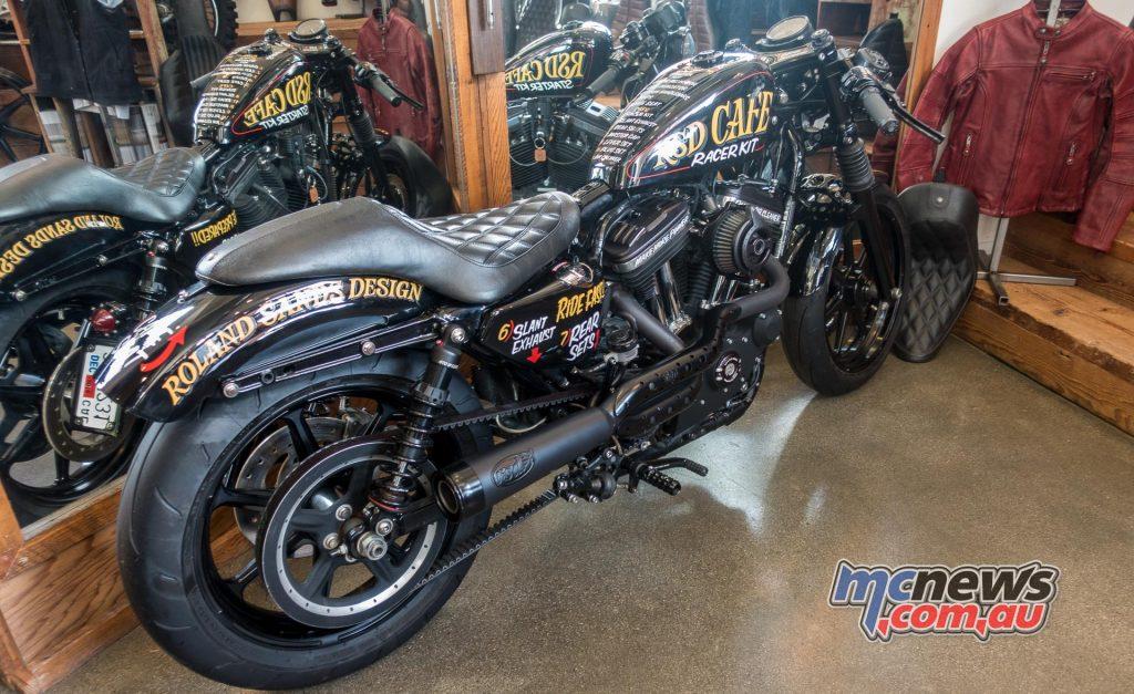 Roland Sands - Sporty Harley