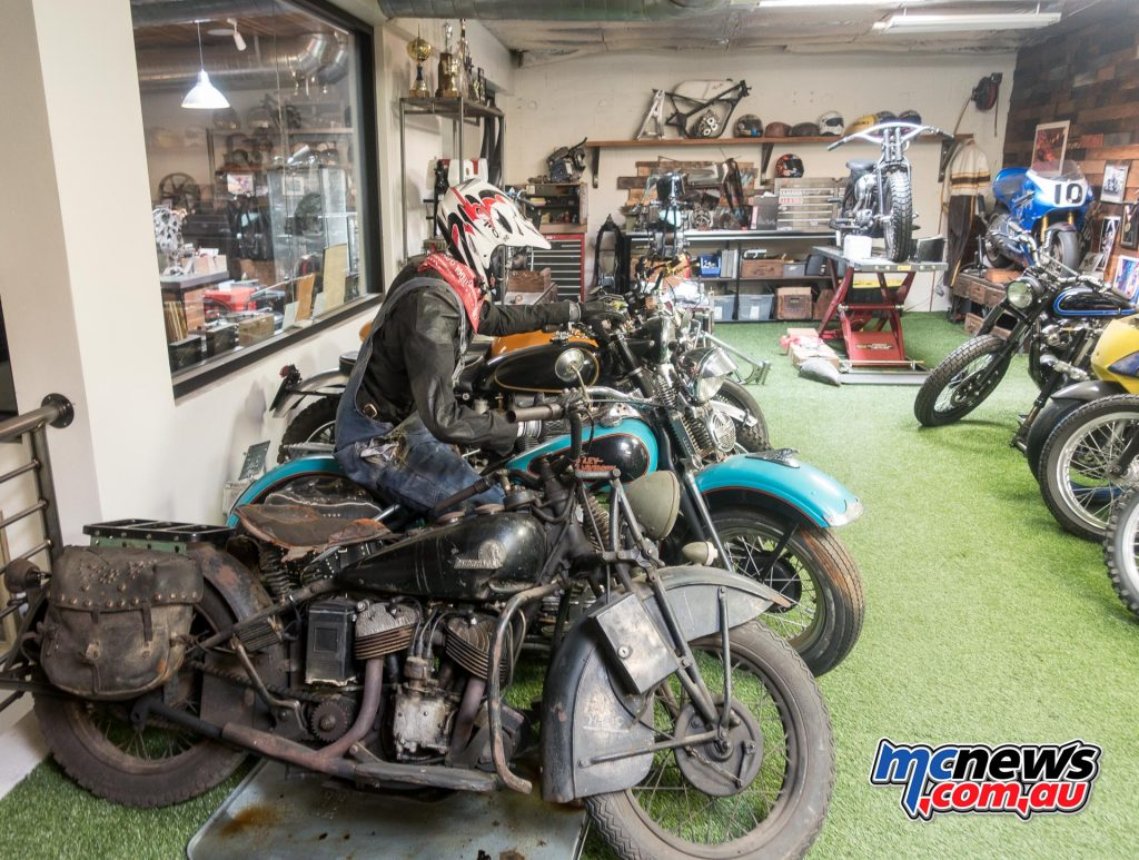 Roland Sands - Every nook and cranny hides something interesting