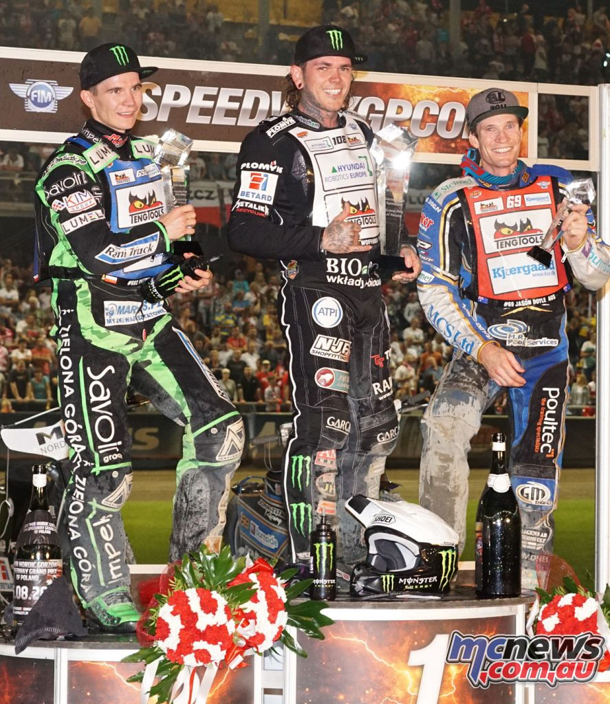 SGP Podium of Poland - Image by Chris Horne