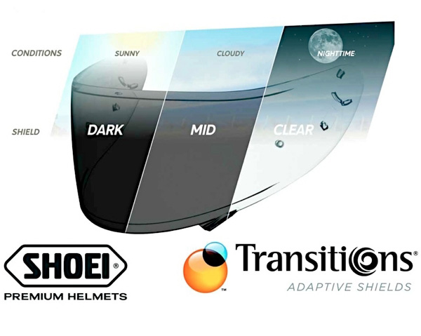 The Shoei photochromatic Transitions shield