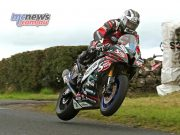 Michael Dunlop in the Supersport Race