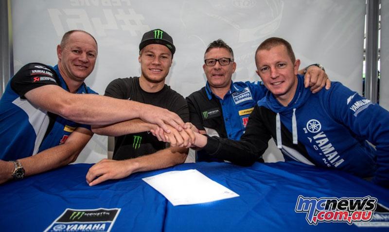 Vsevolod Brylyakov signs with Yamaha for 2018