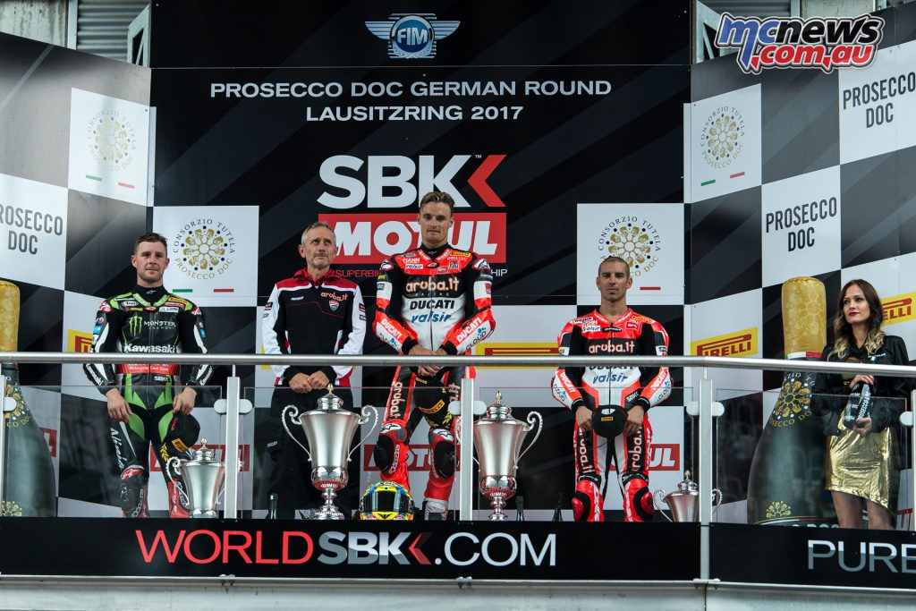 WorldSBK - Race 2 Podium