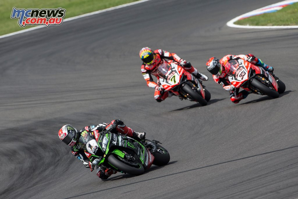 Rea extended his lead over Sykes, although it was Davies day