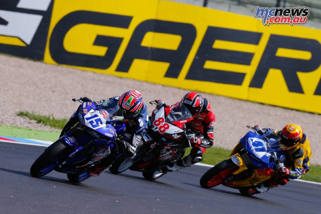 Supersport 300 field at Lausitzring