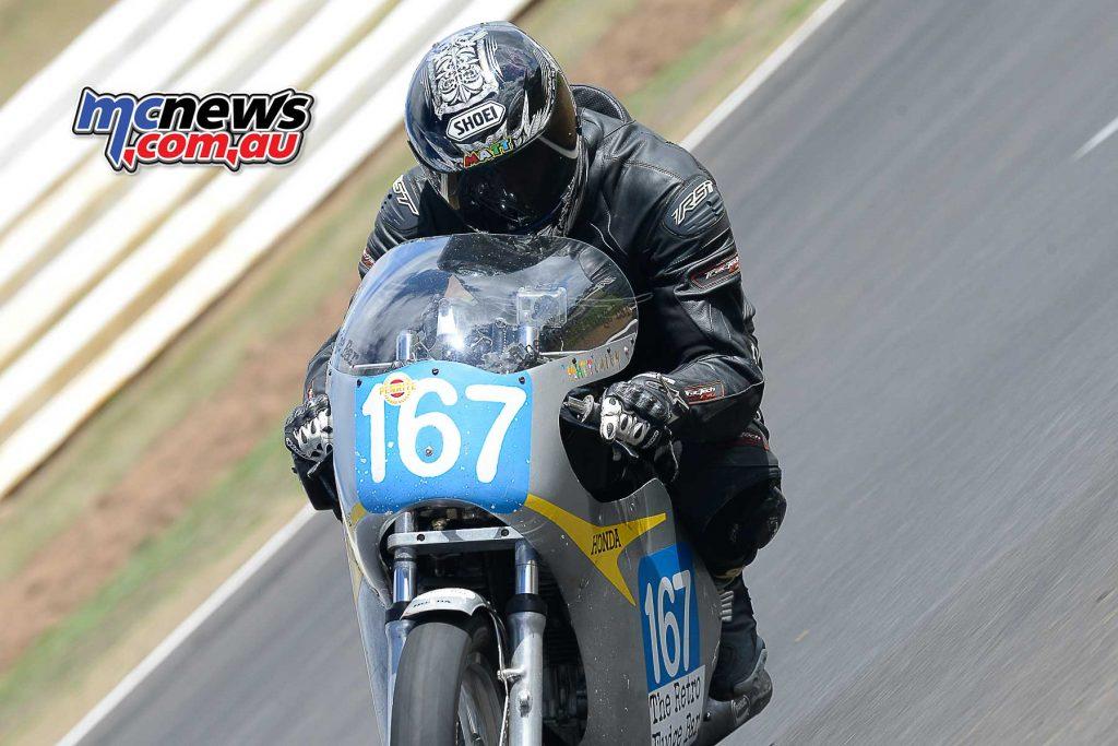 Matt Carey Honda CB350