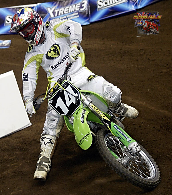 2004 Australian Supercross Nationals Championship - Sydney Superdome - Round One - Paul Broomfield