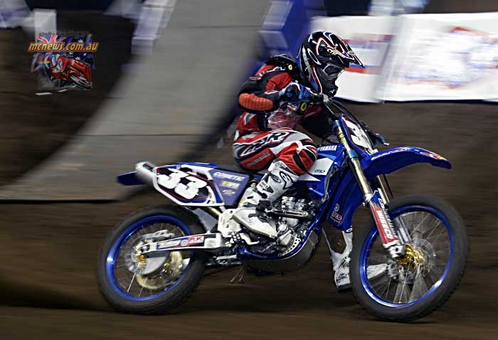 2004 Australian Supercross Nationals Championship - Sydney Superdome - Round One - Adam Cini