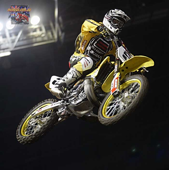 2004 Australian Supercross Nationals Championship - Sydney Superdome - Round One - Danny Ham