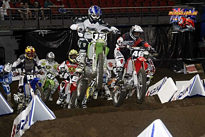2004 Australian Supercross Nationals Championship - Sydney Superdome - Round One - Pro Lites