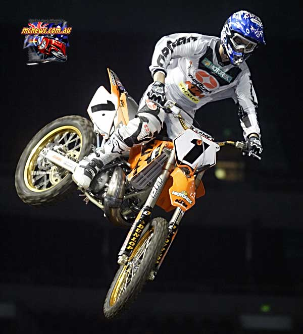 2004 Australian Supercross Nationals Championship - Sydney Superdome - Round One - Jay Marmont