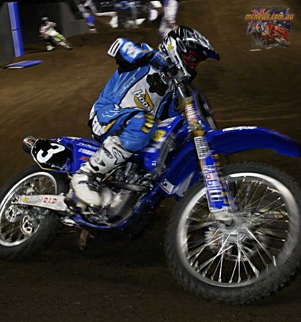 2004 Australian Supercross Nationals Championship - Sydney Superdome - Round One - Daniel McCoy