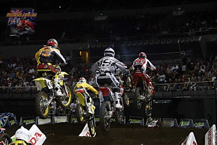 2004 Australian Supercross Nationals Championship - Sydney Superdome - Round One - Pro Open