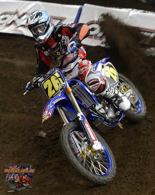 2004 Australian Supercross Nationals Championship - Sydney Superdome - Round One - Wade Thompson