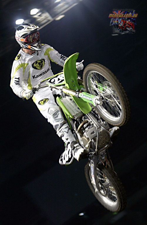 2004 Australian Supercross Nationals Championship - Sydney Superdome - Round One - Toby Price
