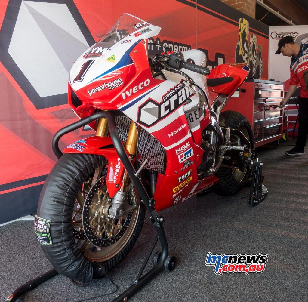 Troy Herfoss - Crankt Protein Honda