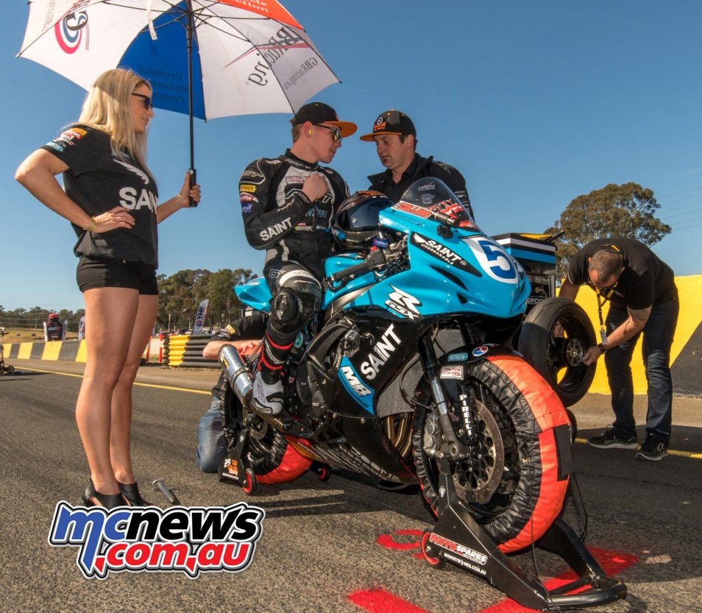Ted Collins on the grid at SMP - Image by Half Light