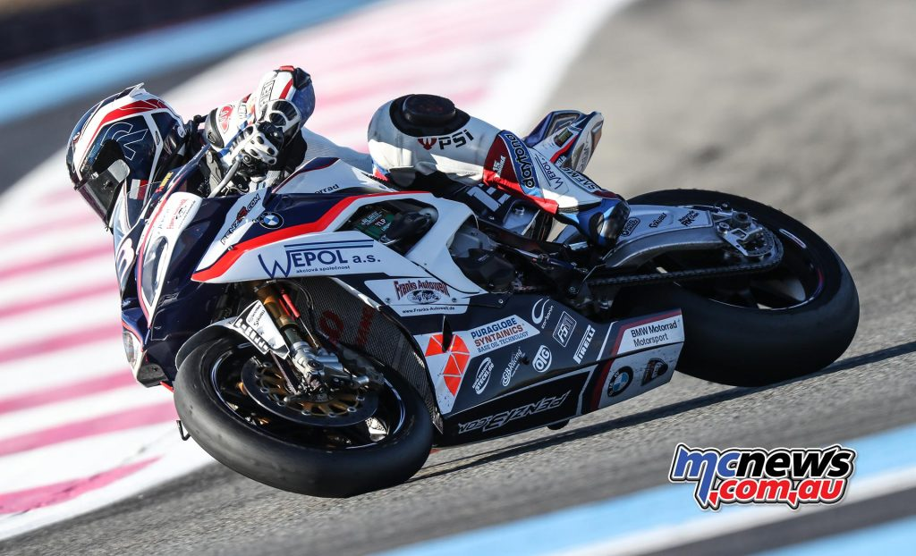 BMW (57 points) went to the head of the constructors' standings, ahead of Yamaha (50 points) and Honda (47 points).
