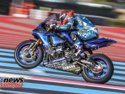 Mike DiMeglio on the Dunlop shod winning GMT94 Yamaha