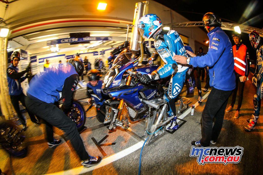 Dunlop shod winning GMT94 Yamaha - Bol d'Or 24 Hours - 2017