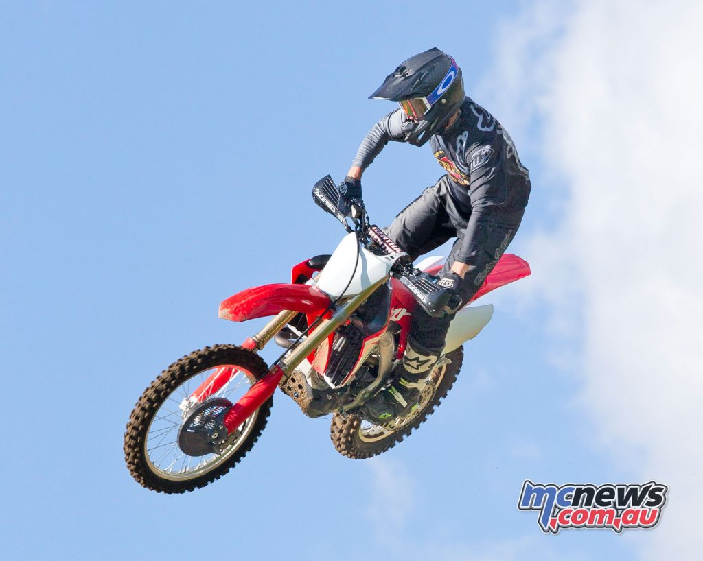 The CRF450RX is designed as a modern cross country trail bike, rather than a full race machine