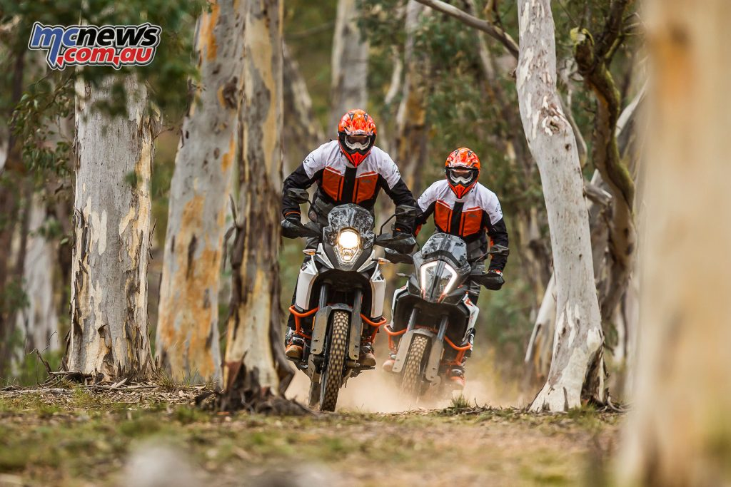 The launch of the 2017 range of KTM Adventure bikes, including the 1290 Super Adventure R and S, and 1090 Adventure R was held in the Blue Mountains, NSW