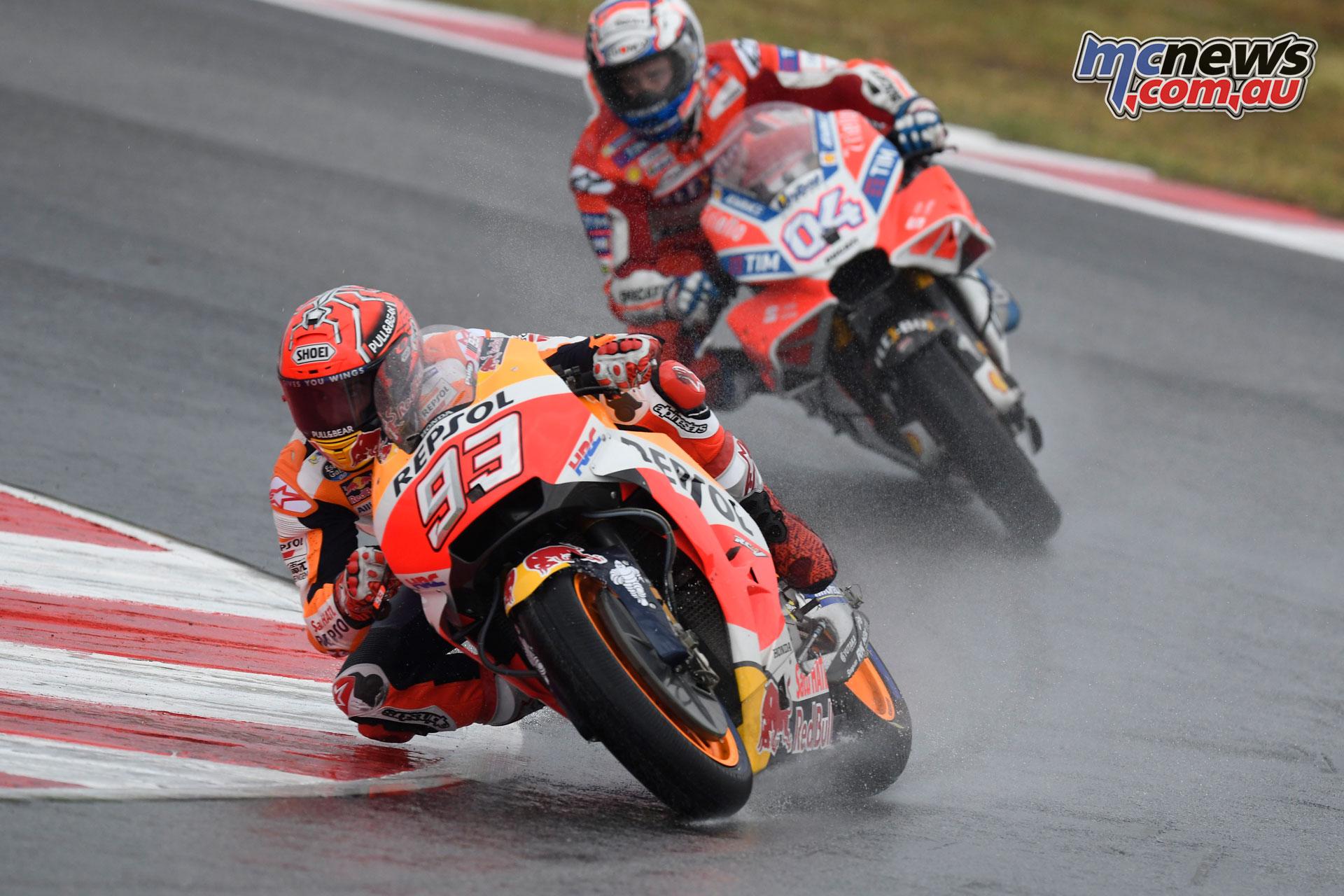Marquez wins Misano | Petrucci, Dovizioso on podium | MCNews.com.au