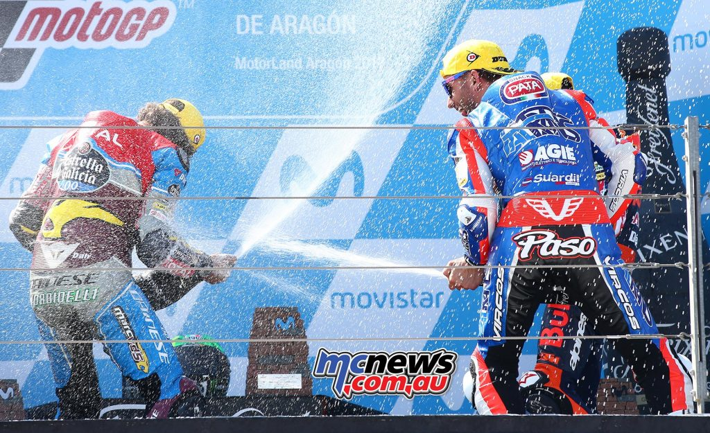 Moto2 Aragon 2017 - Image by AJRN